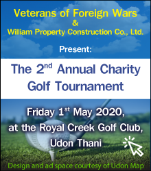 Charity Golf Tournament Udon Thani